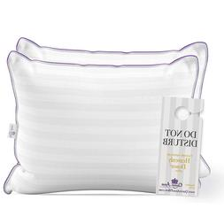 2 pack luxury hotel pillows majesty down