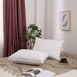 2 x Down Pillow Bed Pillow set Filled Hotel Pillow Queen Siz