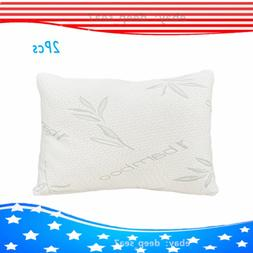 2pcs Cotton pillows Hotel Soft Comfortable Sleep memory cott