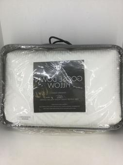 $380 Hotel Collection European White Goose Down Pillow Stand