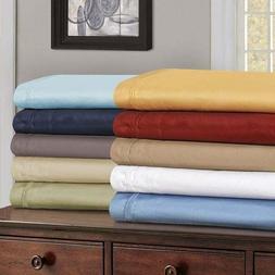 600 TC 100% Cotton Solid Color US Size Hotel Sheet Set/Pillo