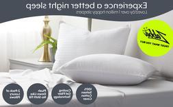 BEST Pillow Beckham Luxury Linens Hotel Collection Gel Luxur