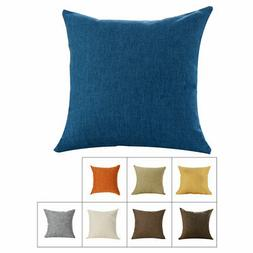 Decorative Cushion Cover Throw Linen Pillow Case for House H