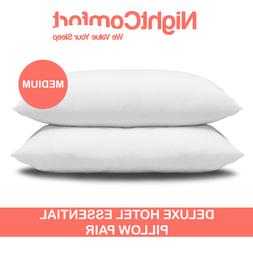 Deluxe Hotel Essential Pillows With Medium Firm Support By N