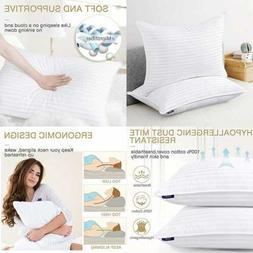 Down Alternative Pillows King Size Set Of 2 For Sleeping Pac