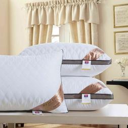 Down Silk Pillow Super Stretch Fabric High Quality Hotel Sta