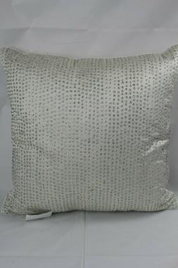 """Hotel Collection Gilded Geo 20"""" Square Decorative Throw Pill"""