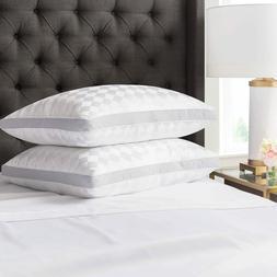 Beckham Hotel Collection Gusset Gel Pillow  - Diamond Emboss