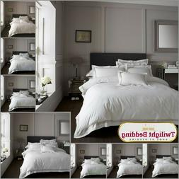 HOTEL Collection Duvet Set Embroidered Quilt Cover Pillow Ca
