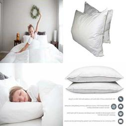 Bed Pillows For Sleeping Queen Size Goose Down Alternative P