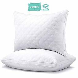 Hotel Pillows for Sleeping 2 Pack Queen, Goose Down Alternat