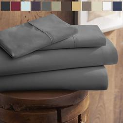 Egyptian Comfort Hotel Quality Bed Sheets - Deep Pocket 4 Pi