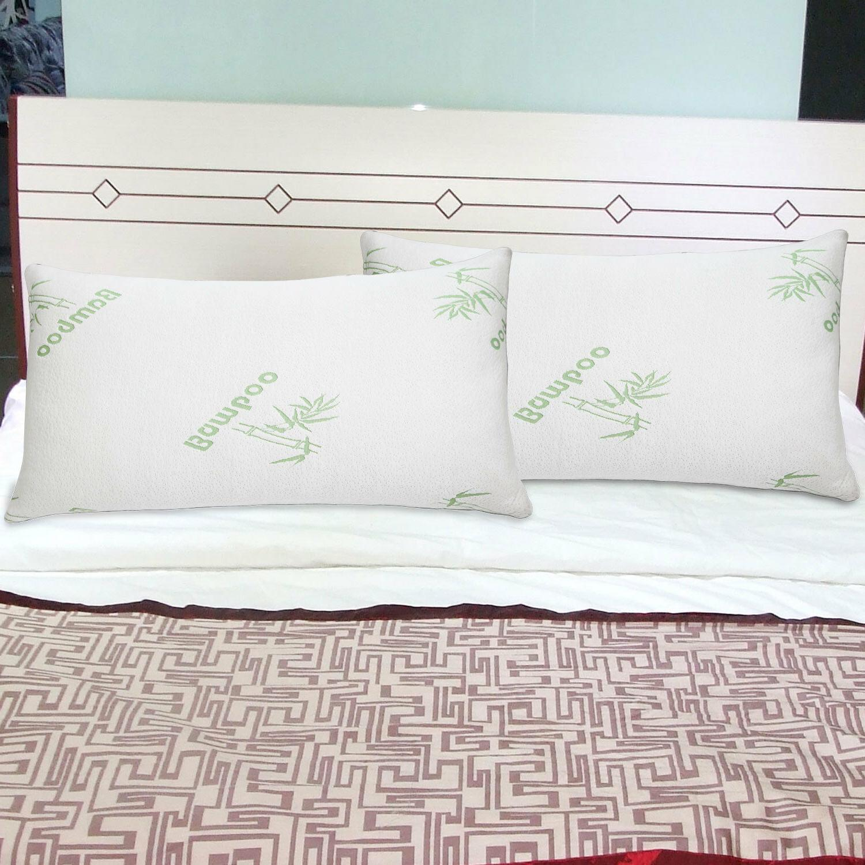 1- Home Foam Pillow Queen/King