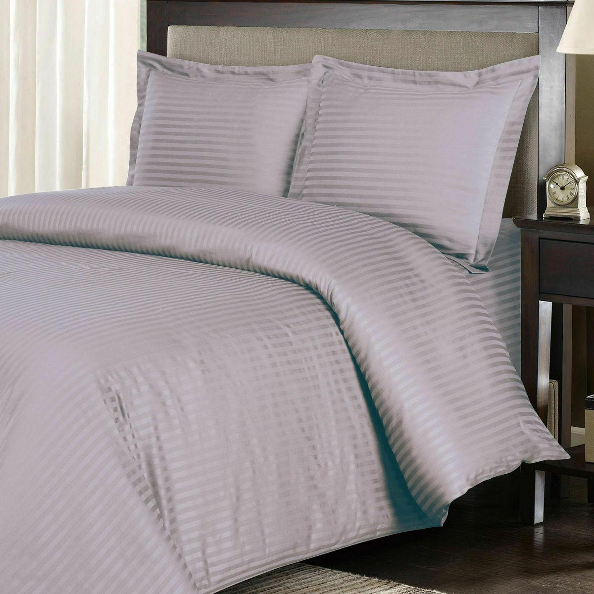 100 percent cotton striped pattern elegant duvet