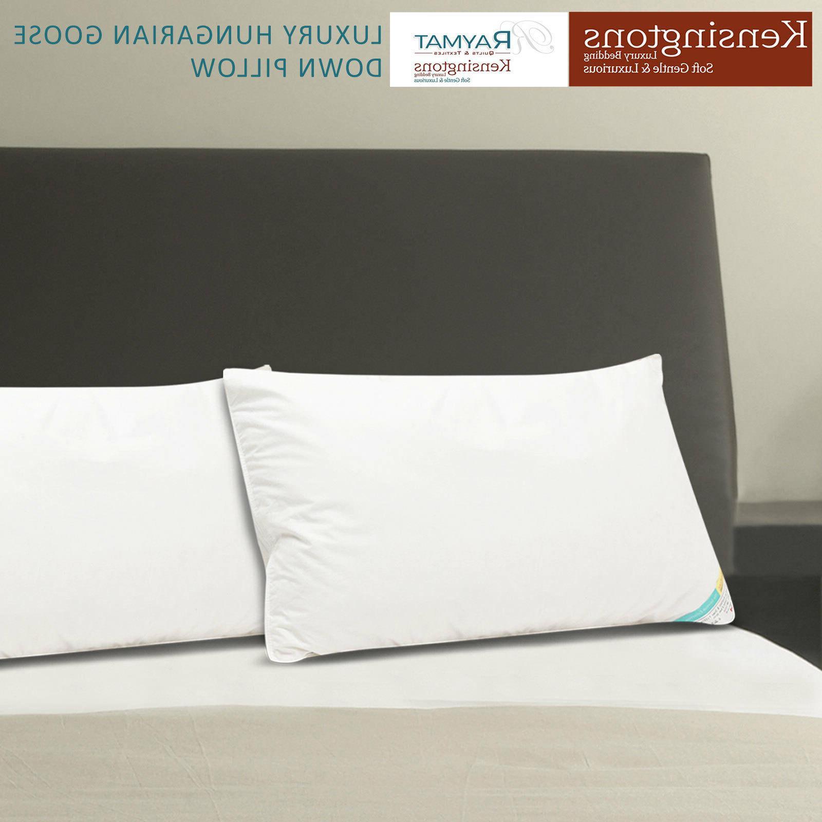 Kensingtons® Hungarian Goose Pillows Cover Hotel Quality