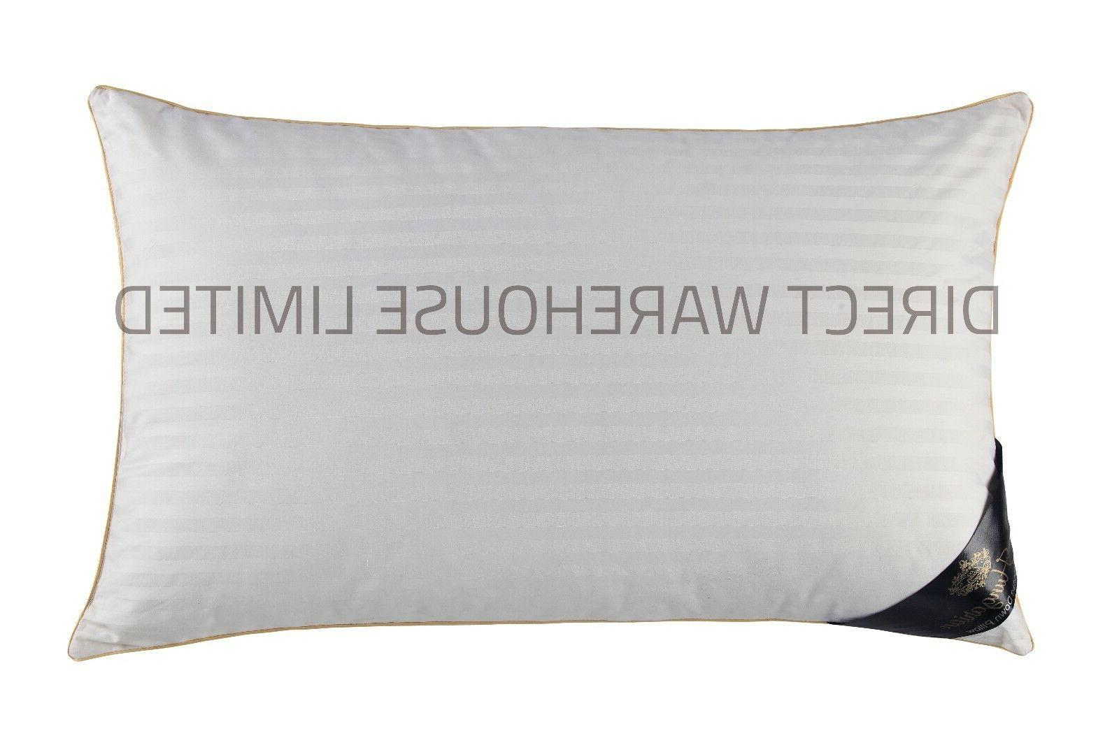 100% Hungarian Goose Down Pillows Luxury Hotel Quality - Fill