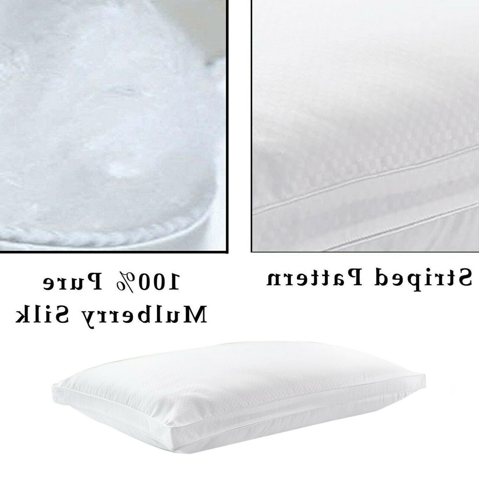 Kensingtons® 100% Pure Silk Pillows Feel Like Down