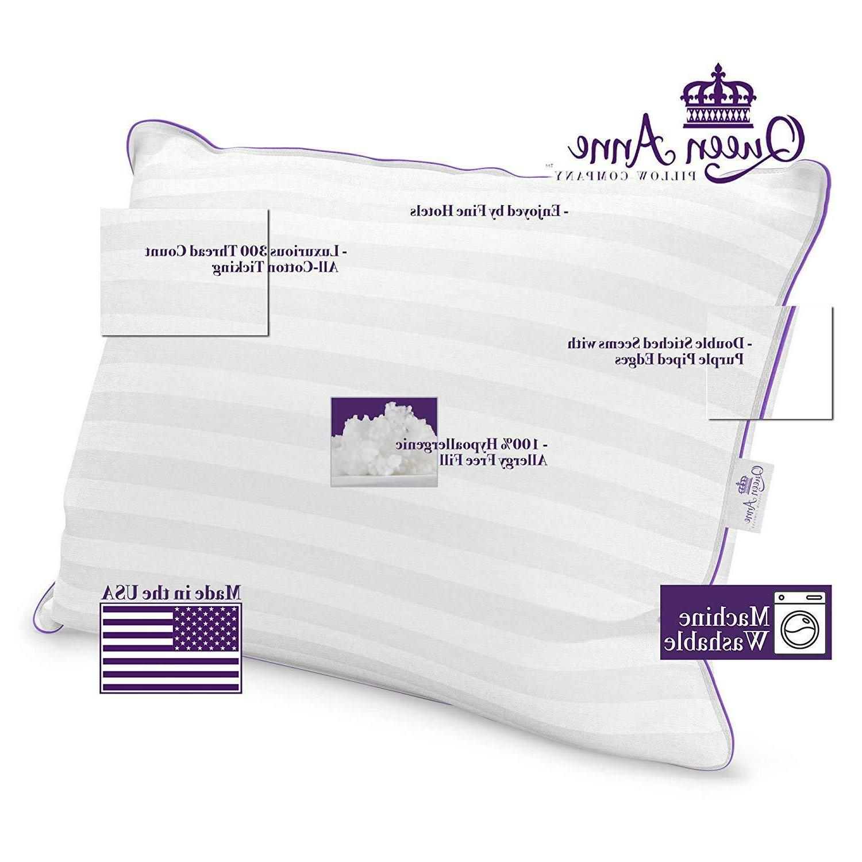 Luxury Pillow Majesty Down Allergy Free Hypoallergenic