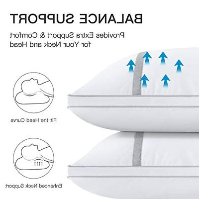 Pillow Down Alternative Hypoallergenic And Sleepers