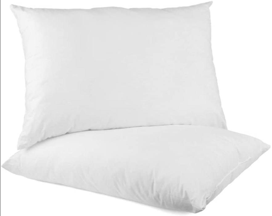 Bed Pillows Soft Hypoallergenic Cotton