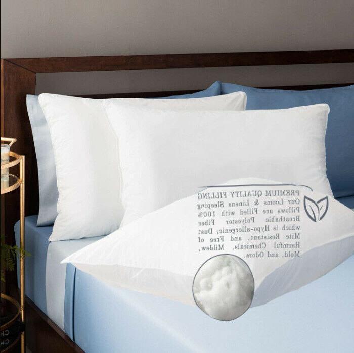 Bed Pillows Soft Hotel Sleep Cotton Machine