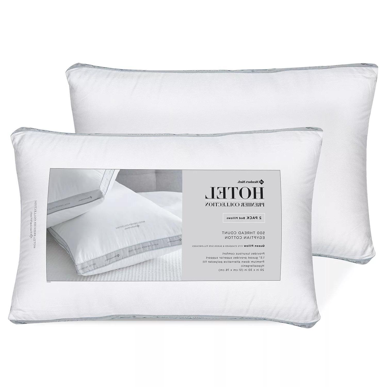 egyptian cotton queen pillows down