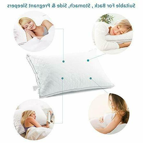 Bed Hotel Pillow Back Sleeper & Hypoallergenic-King