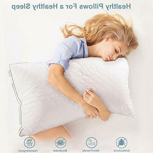 Bed Pillows Soft Hotel Pillow Back Sleeper & Size