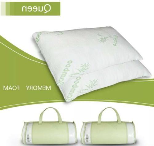 Hotel Bamboo Foam Pillow Queen Size