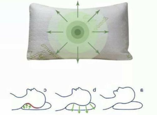 Hotel Foam Pillow Hypoallergenic Cozy Queen