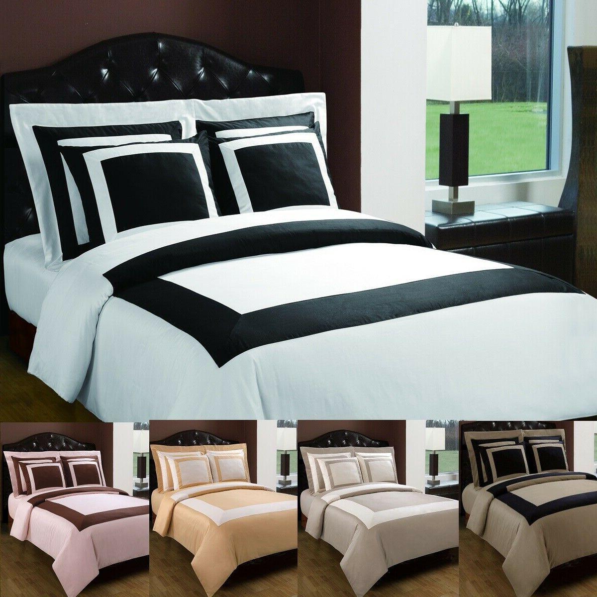 hotel cotton 5 piece duvet covers