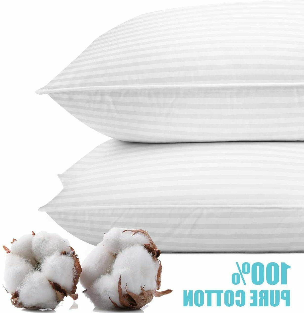 Ultra Soft Hotel Quality Pillows of Size