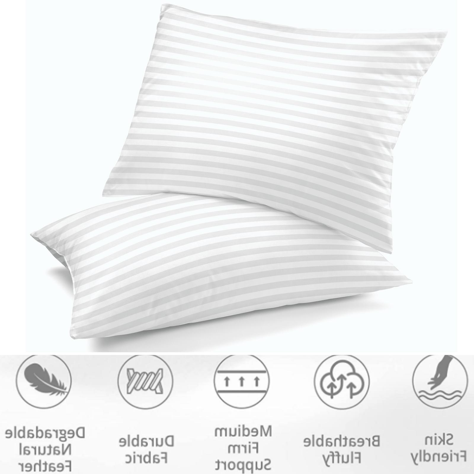 hypoallergenic bed pillows king pillows set of