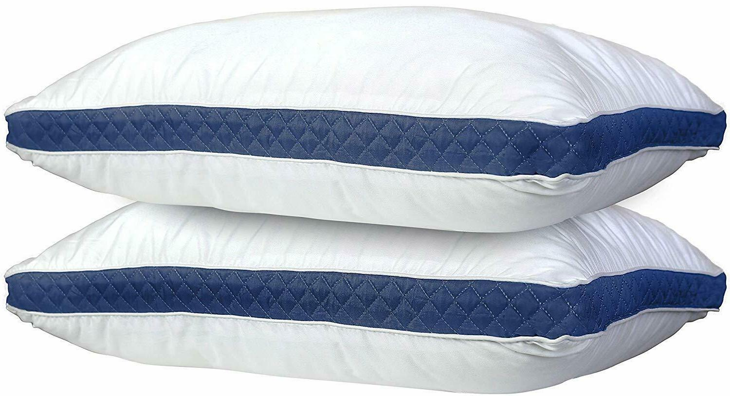 hypoallergenic pillow quilted 2 pack queen king