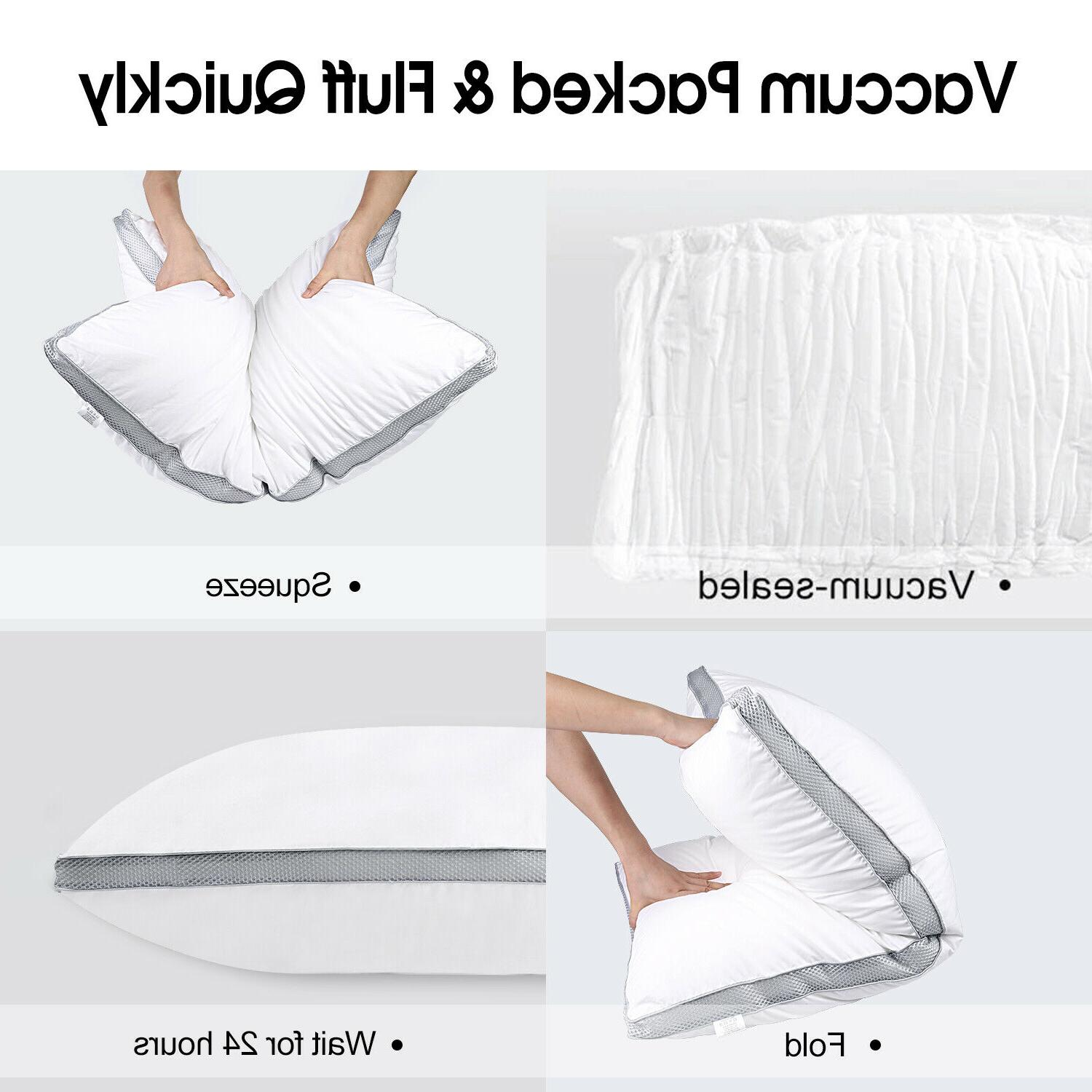 Luxury Hotel Pillow of Bed Pillows Side Sleepers