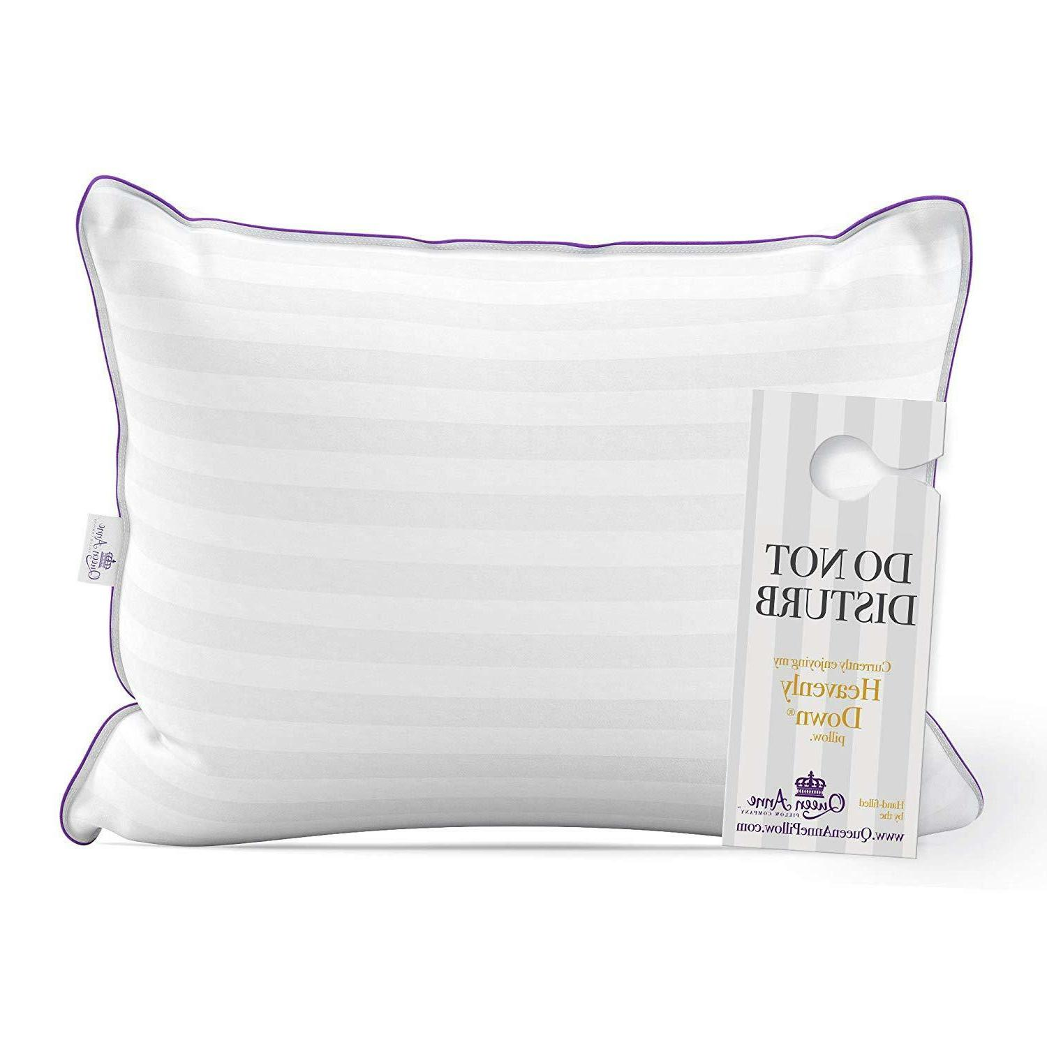 luxury hotel pillow majesty down synthetic down