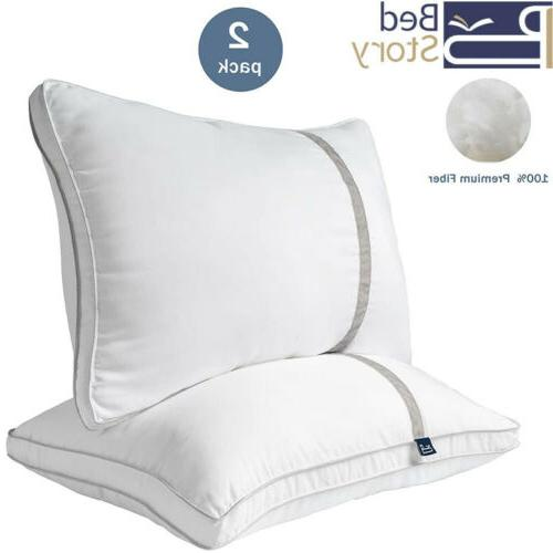 pillows 2pack hotel collection luxury king premium