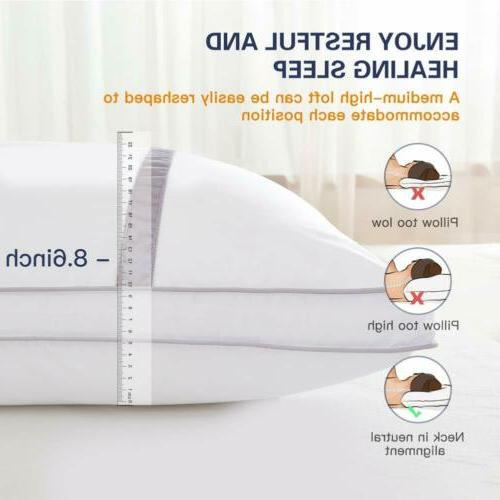 pillows set of 2 hotel collection luxury