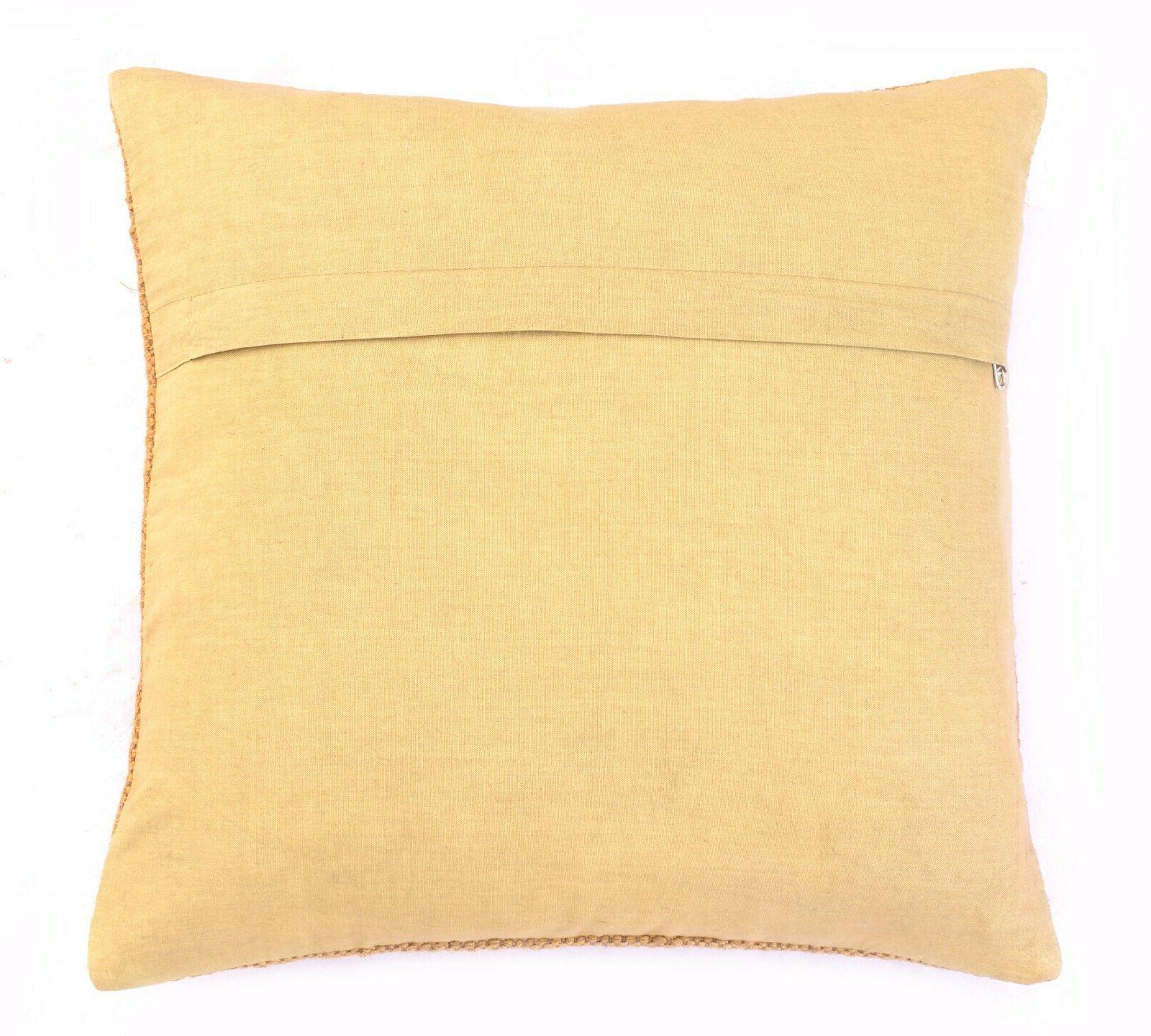 Set of 5 Cushion Cover Pillow Case Floor Sofa Cushion