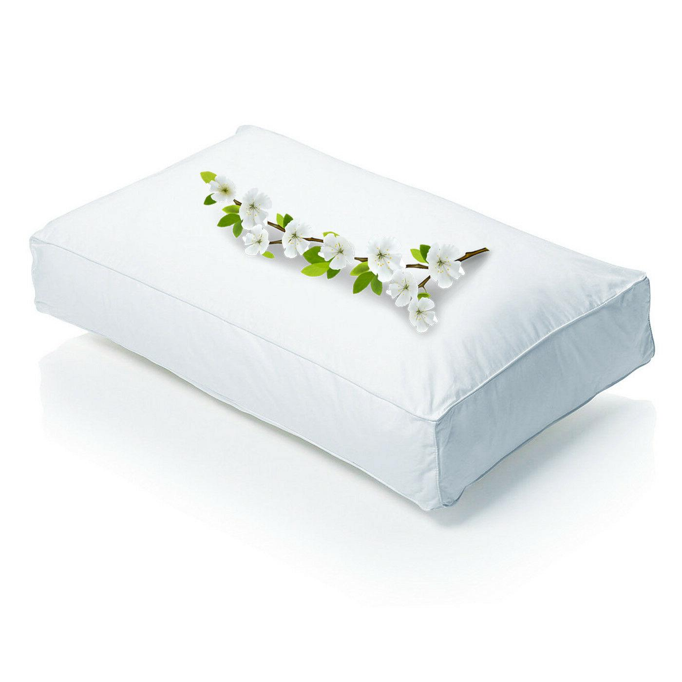 square wall bounce back pillows luxury microfiber