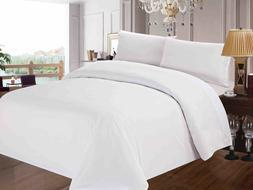 HOTEL QUALITY SHEET/DUVET SET/FITTED 400TC EGYPTIAN COTTON W