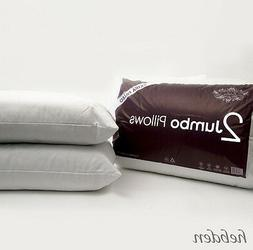 Pack of 2, 4 or 8 Extra Filled Quilted Jumbo Bed Pillows Hot