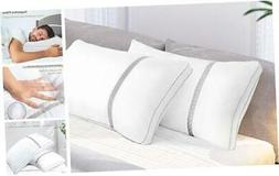 Pillows for Sleeping 2 Pack, Hotel Quality Bed Pillow Size,