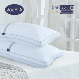 BedStory Pillows Set of 4 Hotel Collection Luxury King Premi