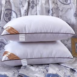2018 New Feather Silk Ultra Soft Bed Pillow Case Five Star H