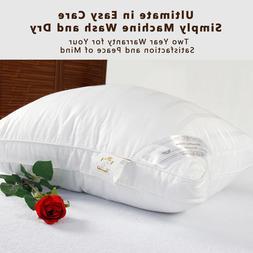 Premium Hotel Microfiber Filling Inside Fabric Cotton Pillow
