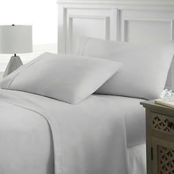 Premium Hotel Quality 4 Piece Deep Pocket Bed Sheet Set by E