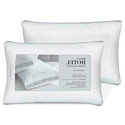 Set 2 Pack QUEEN Hotel Luxury My Premier Pillow Egyptian Cot