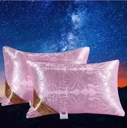 Silk Pillow The Family Or Hotel Protect The Neck Fill In The