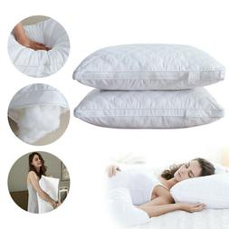 Soft Hotel Bed Pillows For Sleeping Hypoallergenic Neck Back